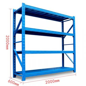 metal warehouse storage 4 layer steel material long span shelving