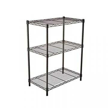 Multi-functional 5 Tier Chrome Wire Shelving for Home Kitchen Used