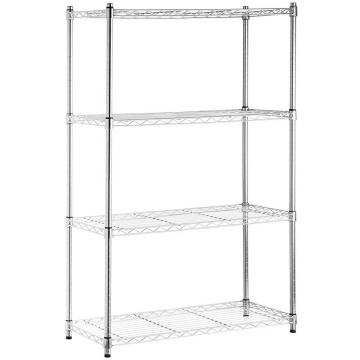Stainless Steel Storage Metal Display Rack Folding Wire Shelf