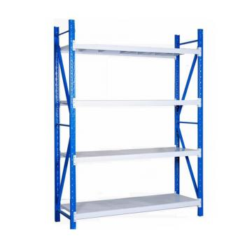 Light duty metal steel rivet boltless shelving warehouse storage rack