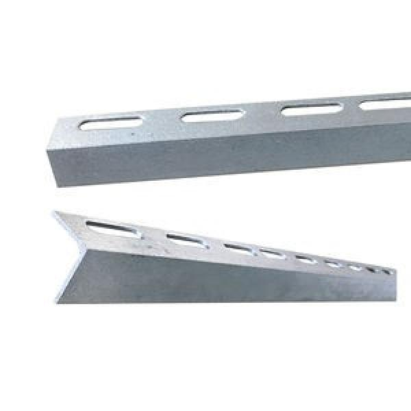 One-Stop Service Angle Slotted Store Racks Manufacturers Jracking Retail Grocery Store Display Rack Angle Steel Slotted Boltless Rivet Shelving #3 image