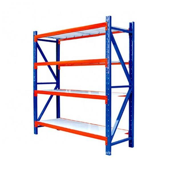Hyper Market Shelving System Display Rack, Grocery Store Metal Shelving Rack For Mall #3 image