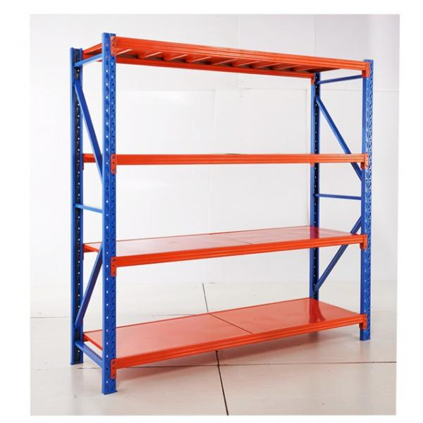 Commercial Boltless Bolt free 4 Tier Warehouse Heavy Duty Metal Shelving Unit #1 image