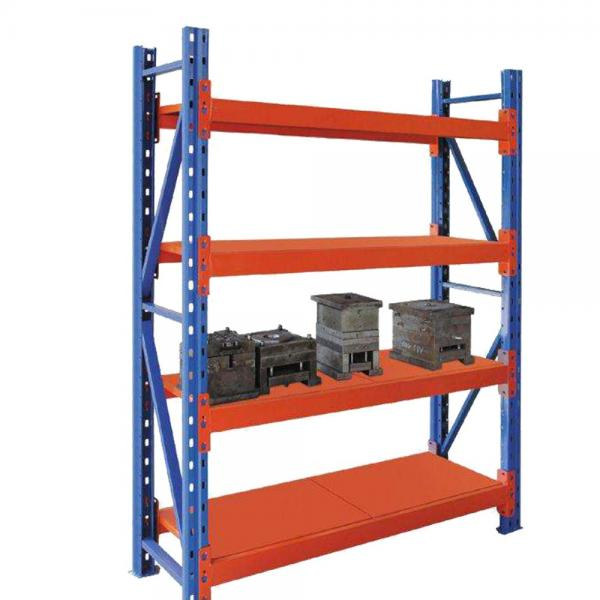 Powder coating heavy duty warehouse industrial stacking collapsible steel metal pallet tire storage rack #3 image