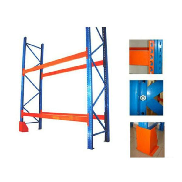 Heavy duty 4.5T per layer metal warehouse storage pallet rack for industrial #3 image