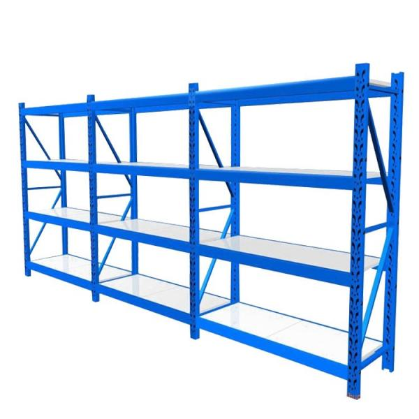 Custom-made products and 3 layers high cold rolled steel material warehouse rack #3 image