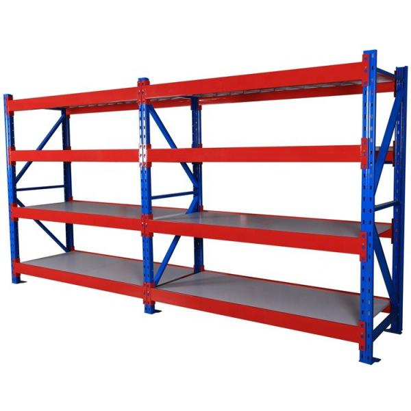 Custom-made products and 3 layers high cold rolled steel material warehouse rack #2 image