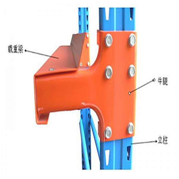 Guangdong Manufacturer 3T Per Layer Heavy Duty Metal Warehouse Storage Pallet Rack For Industrial #3 image