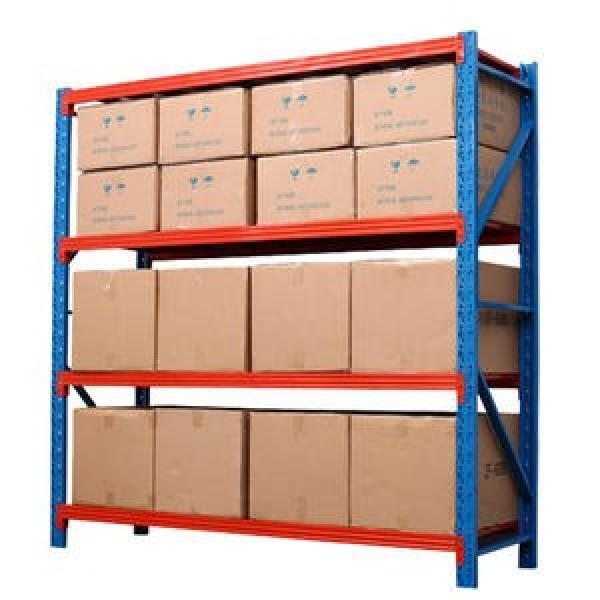 High utilization warehouse multi-level garage storage racking /boltless shelving/ longspan racking #3 image