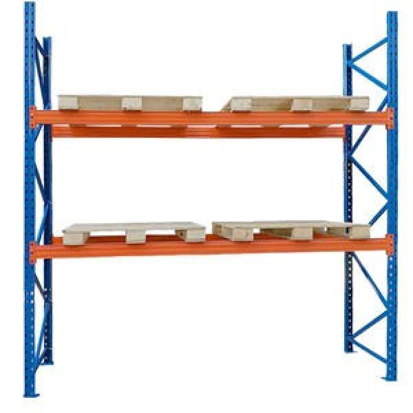 High utilization warehouse multi-level garage storage racking /boltless shelving/ longspan racking #1 image