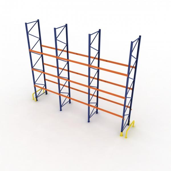 Heavy duty 4.5T per layer metal warehouse storage pallet rack for industrial #2 image