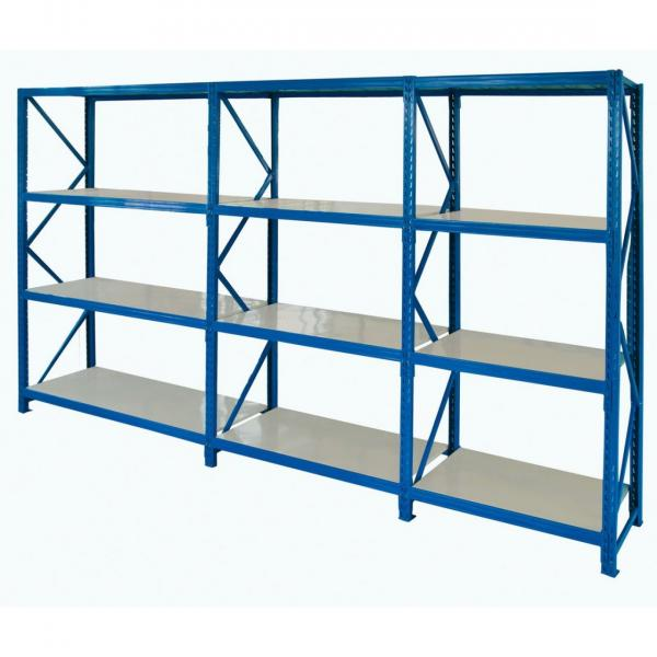 Storage 4 tier commercial adjustable metal steel wire rack heavy duty rolling warehouse industrial stand shelving #2 image