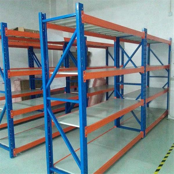 Storage 4 tier commercial adjustable metal steel wire rack heavy duty rolling warehouse industrial stand shelving #3 image